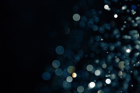 Photo pour bokeh of lights on black background - image libre de droit