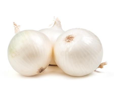 Photo for white onion isolated on white background - Royalty Free Image