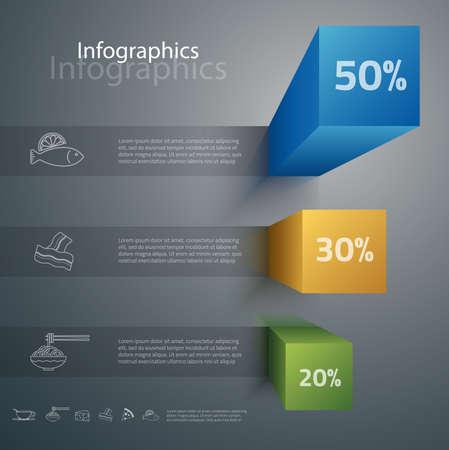 Illustration pour Carefully designed illustration of infographics elements - image libre de droit