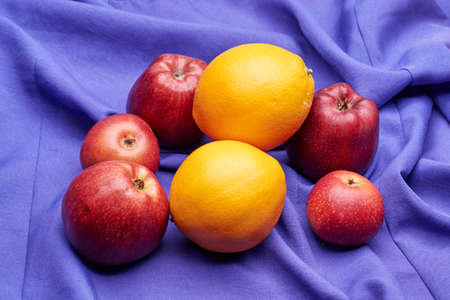 Photo for fruits contain lots of vitamins and are used in different forms - Royalty Free Image