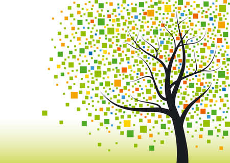 Illustration for Abstract tree - Royalty Free Image
