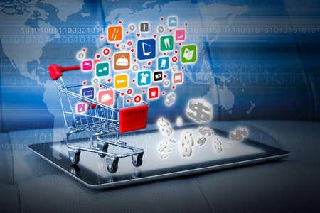 Foto de Shopping online concepts - Imagen libre de derechos