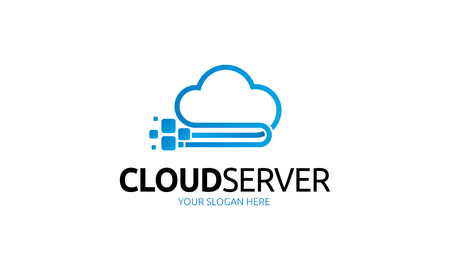 Illustration pour cloud server - image libre de droit