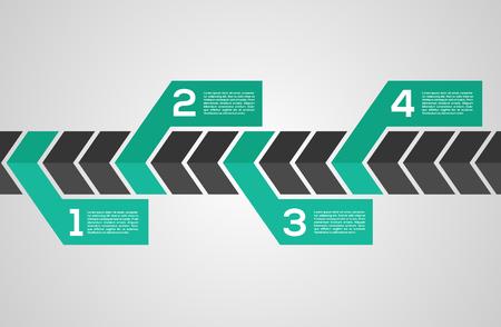 Ilustración de Modern Design Layout - Imagen libre de derechos