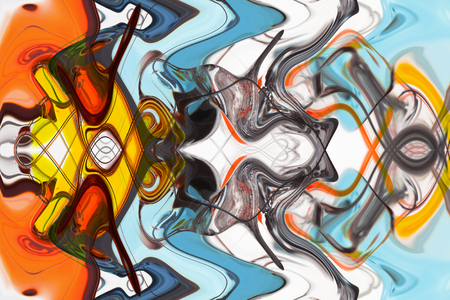Foto de art abstract multi-colored pattern background - Imagen libre de derechos