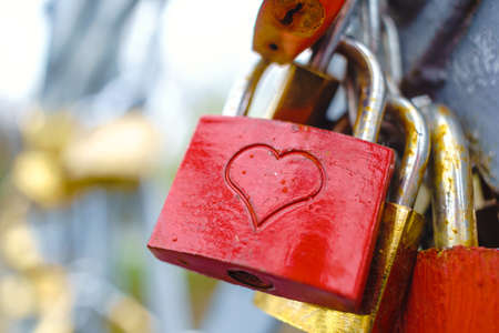 Foto de Love Locks - Imagen libre de derechos