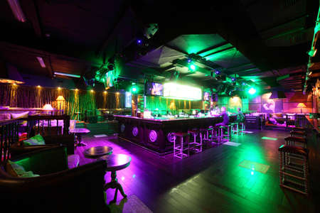 Photo for new and clean luxury night club in european style - Royalty Free Image