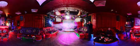 Photo for colorful interior of bright and beautiful night club - Royalty Free Image