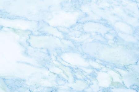 Photo pour Blue light marble stone texture background - image libre de droit