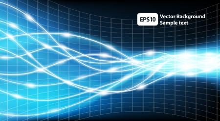 Illustration pour Abstract Technology Background Vector Illustration - image libre de droit
