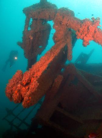 Foto de Black Sea wreck - Imagen libre de derechos