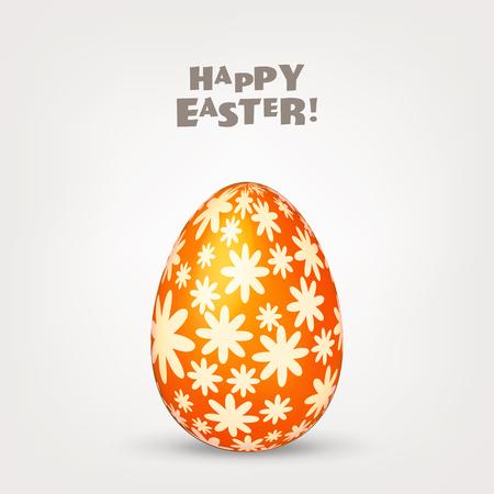 Illustration pour Easter egg. Spring. Holidays in April. Gift. Seasonal celebration. - image libre de droit