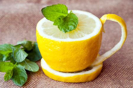 Foto de Lemon tea - Imagen libre de derechos