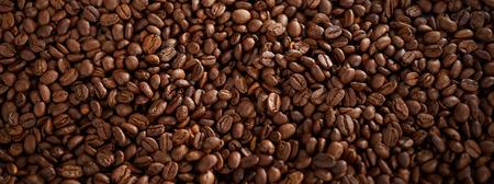 Foto de Full frame of roasted coffee beans - Imagen libre de derechos