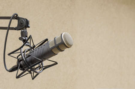 Photo for microphone - Royalty Free Image