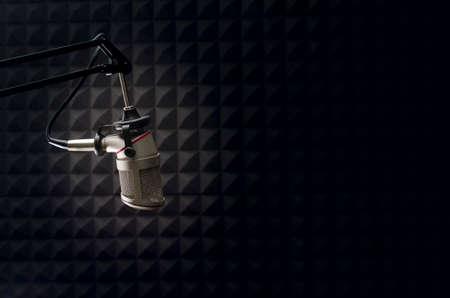 Photo pour studio microphone - image libre de droit