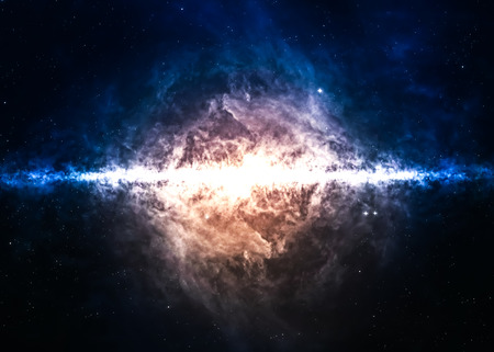 Photo pour Star field in  deep space many light years far from the Earth.  - image libre de droit