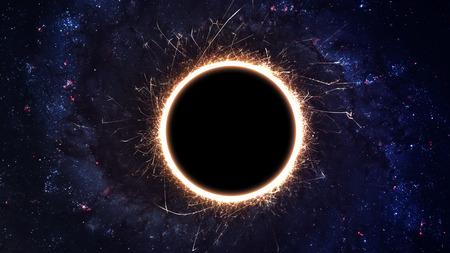 Foto de Black hole in space.  - Imagen libre de derechos