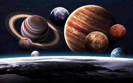 Foto de High resolution images presents planets of the solar system. - Imagen libre de derechos