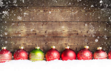 Photo for christmas ball in the snow - Royalty Free Image