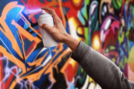 Foto de Graffiti artist - Imagen libre de derechos