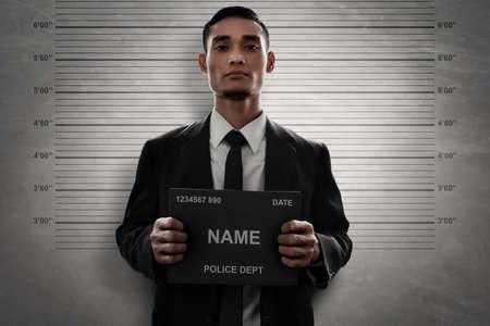 Photo for Mugshot of criminal - Royalty Free Image