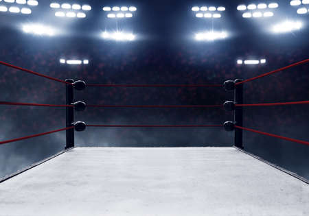 Photo for Professional boxing ring - Royalty Free Image
