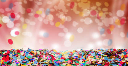 Photo for Confetti, background, carnival, bokeh - Royalty Free Image