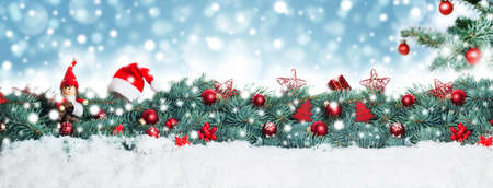 Foto de Christmas background, banner - Imagen libre de derechos
