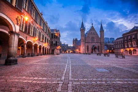 Photo pour The Hague city center, government buildings - image libre de droit