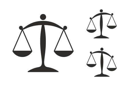 Illustration pour Scale illustration background. - image libre de droit