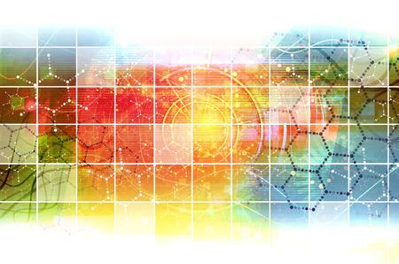 Foto de Science Research as a Concept for Presentation - Imagen libre de derechos