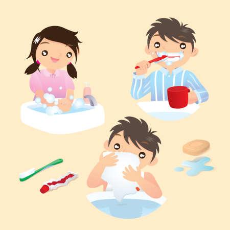 Ilustración de Be a good child - Imagen libre de derechos