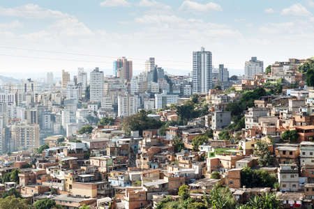 Photo for View of Morro do Papagaio at Belo Horizonte, Minas Gerais, Brazil - Royalty Free Image