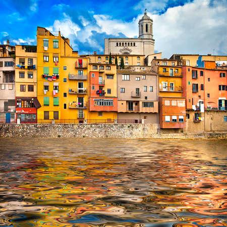 Girona - pictorial city of Catalonia, Spain