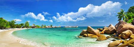 Foto de scenic  tropical nature - amazing Seychelles - Imagen libre de derechos