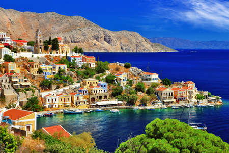 Photo for pictorial Greece - Symi island, Dodecanese - Royalty Free Image