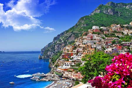 Foto de beautiful Italian coast - Positano - Imagen libre de derechos