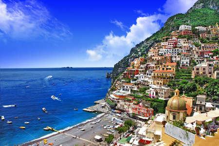 Foto de beautiful Italian coast - Amalfi, Positano - Imagen libre de derechos