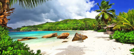 Photo for beaches of Seychelles island. Takamaka, Mahe - Royalty Free Image
