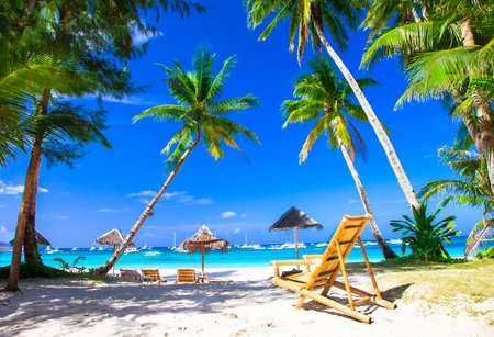 Foto de tropical holidays - Boracay island, Philippines - Imagen libre de derechos