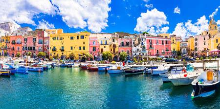 Foto de colorful Procida island, Italy - Imagen libre de derechos