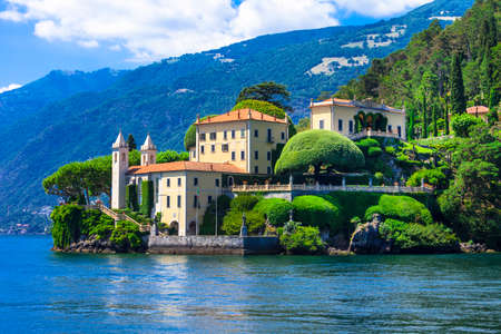 Photo for beautiful Lago di Como, Lenno. Italy - Royalty Free Image