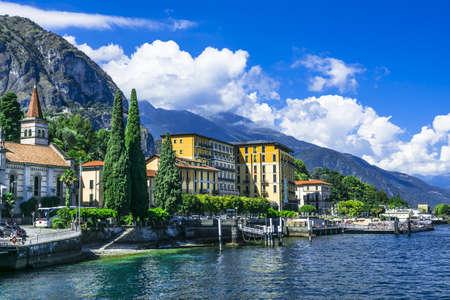 Photo pour scenery of Lago di Como, Cadenabbia. Italy - image libre de droit