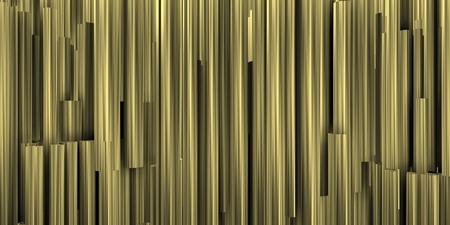 Foto de Image of vertical metalic tubes background. - Imagen libre de derechos