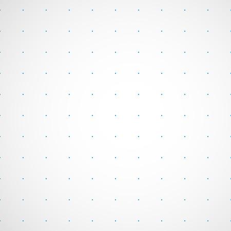 Illustration pour Dotted paper pattern - image libre de droit