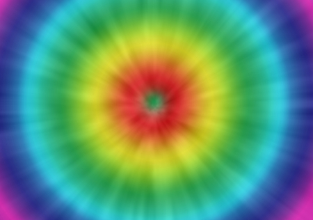 Photo for a colorful psychedelic tie dye background with a retro look - Royalty Free Image