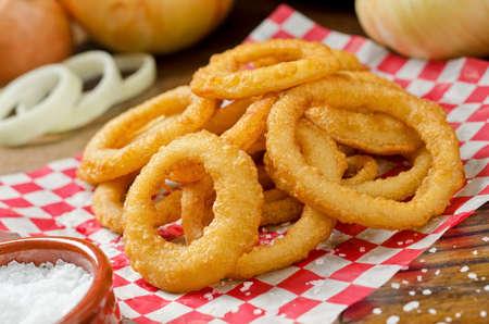 Photo pour Onion Rings - image libre de droit
