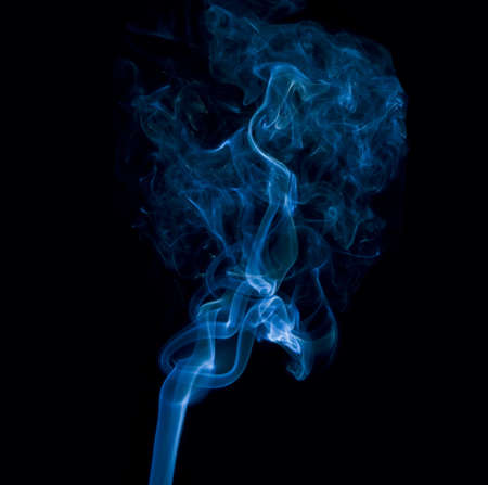 Photo for Blue smoke  - Royalty Free Image