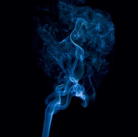 Photo pour Blue smoke  - image libre de droit